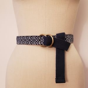 J. Crew Geo Canvas Belt